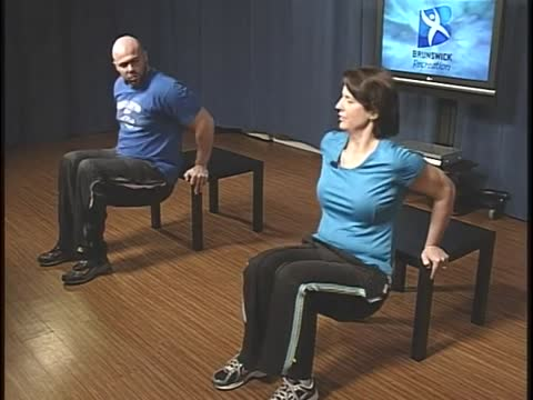 Totally Toned, Chair Dips