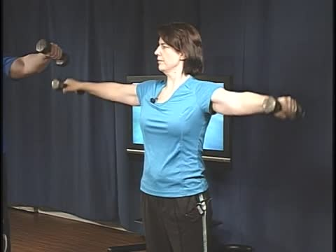 Totally Toned, Lateral to Front Raise