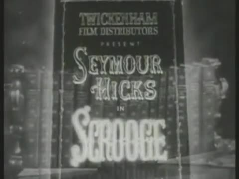 Weirdness Really Bad Movie: Scrooge